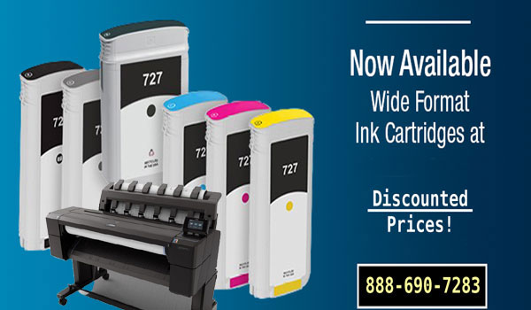 ink cartridges for wide format printers