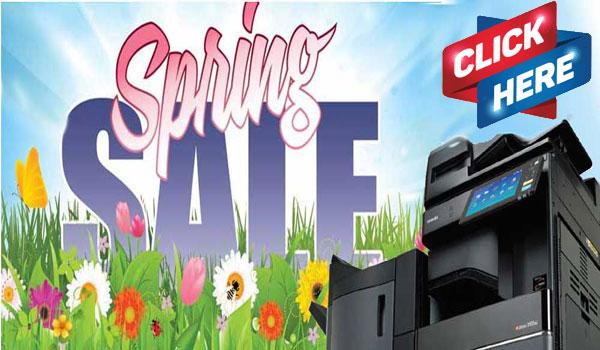 Toshiba Copier Spring Sale